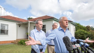 Malcolm Turnbull and Scott Morrison were not shy about talking up the leveraged version of the Australian dream.