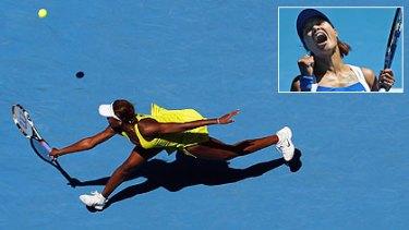 Venus Williams ... knocked out by Li Na.