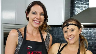 """Doing it for WA: Chloe and Kelly out to """"change the world, one palate at a time""""."""