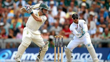 Rogers was under pressure to score runs after an indifferent start to the Ashes series.