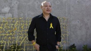 Occupy Central co-founder Benny Tai.