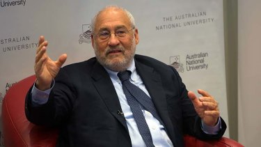 """Trying to pretend that universities are like private markets is absurd"": Nobel prize-winning economist Joseph Stiglitz."