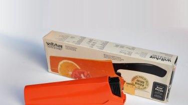 The Wiltshire Staysharp knife, designed in Australia.