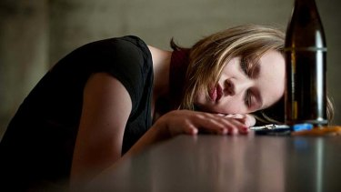 Guilt trip … excess alcohol can induce anxiety attacks.