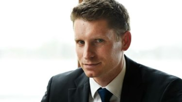 Liberal candidate Andrew Hastie.