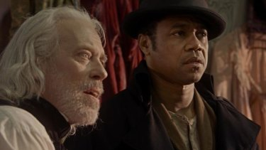 Terrence Mann and Cuba Gooding jnr in <i>Freedom</i>.
