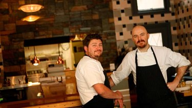 Scott Pickett and Ryan Flaherty of The Estelle restaurant in Northcote.