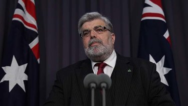 Human Services Minister Kim Carr resigns from the position.