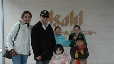 Matthew Ng with his wife Niki Chow and children (clockwise from left) Isabella, Megan, Hugo and Alexandra.