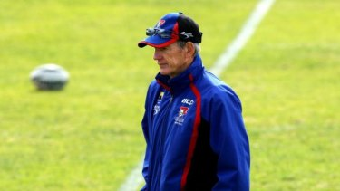 In demand: Power coach Wayne Bennett is keen to return to his home state.