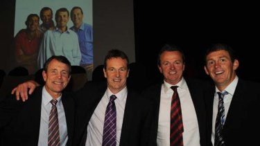 The Danihers: Terry, Neale , Anthony and Chris in 2009.