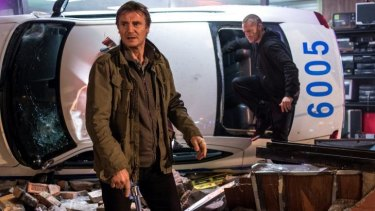 It drives itself: Liam Neeson and Joel Kinnaman contend with local gangs in Jaume Collet-Serra's predictable thriller.