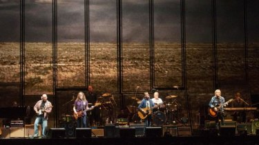 Legendary American rockers the Eagles opened their Australian tour in Perth on Wednesday night.