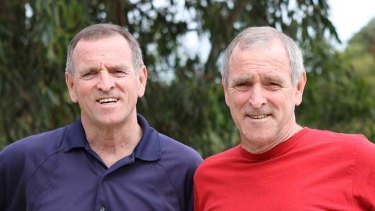Paul (right) and Peter Tillig. Photo: supplied.