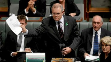 Lack of information: Immigration Minister Scott Morrison.