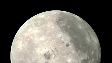 Dark side of the moon.
