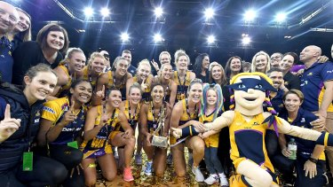 Champions: The Sunshine Coast Lightning.