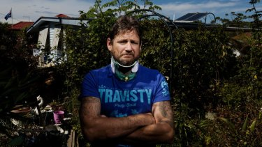 Michael McNamara who was badly injured when assaulted is angry at ambulance delay.