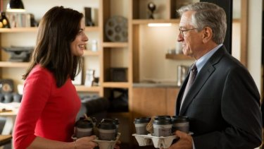 Generations collide in <i>The Intern</i>.