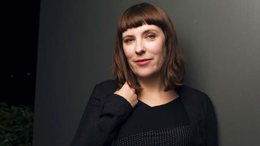 Portrait of Evie Wyld, winner of this year's Miles Franklin literary award.