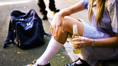 The real evil . . . the wide consumption and acceptance of alcohol makes it a tough area for parent's to control.