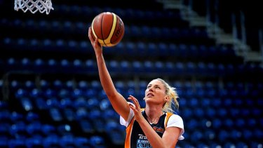 """""""I didn't stop being scared until Timmsy and Robyn Maher"""" ... Lauren Jackson."""