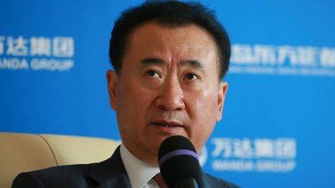 China's richest man: Wang Jianlin.
