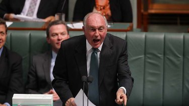 Conceded the start date for the projects could be further away ... Coalition transport spokesman Warren Truss.