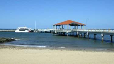 Redcliffe jetty.