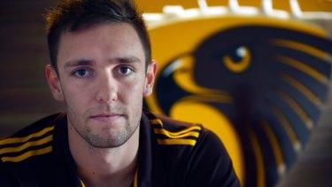On target: Jack Gunston is the deadliest kick of the AFL's 50 top goalkickers.
