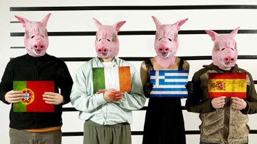 PIGS: Portugal, Ireland, Greece and Spain.