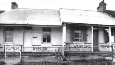 Safe haven: Elsie, Australia's first women's refuge, in the mid 1970s.