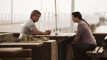 David Wenham and Emily Watson in <i>Oranges and Sunshine</i>.