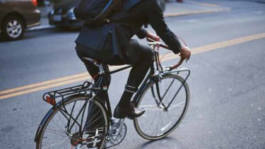 Bike-friendly features such as a button-up leg make sense for riders.