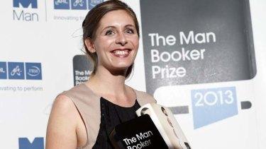 New Zealand writer Eleanor Catton, winner of the Man Booker Prize 2013.