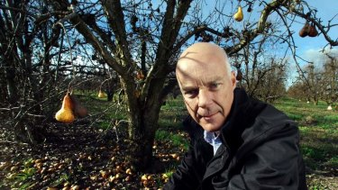 Mooroopna fruitgrower Peter Hall  plans to stay in business despite hard times.