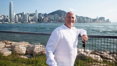 In Hong Kong ... Ex-ABC board member Michael Lynch described budget cuts to the arts and the ABC 'silly'.