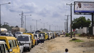Lagos, Nigeria, is one of Melbourne's competitors for the title of most liveable.