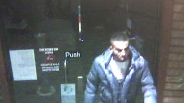 Unidentified … the man police are seeking.