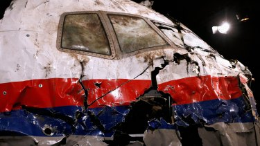 MH17's wrecked cockpit: After the tragedy last year, Malaysia Airlines has moved flight routes away from conflict zones.