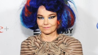 Bjork at the 16th Annual Webby Awards on May 21, 2012 in New York City.