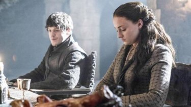Ramsay Bolton, played by Iwan Rheon, said it was a 'mind blowing' scene with Sophie Turner as Sansa Stark.