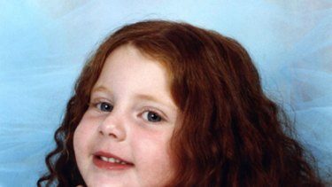 Swept away ... four-year-old Nelani Ciari Koefer was killed at Bedford Weir last November.