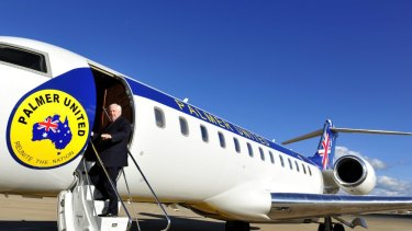 Clive Palmer's aviation company is set to be liquidated.