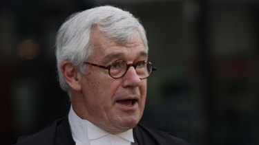 Melbourne Grammar School alumnus Julian Burnside, QC, says society is to blame for the students' behaviour, not the school.