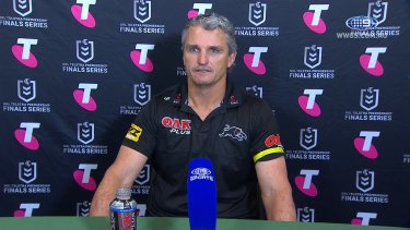 Ivan Cleary's post match press conference following the Panthers victory over the Eels.