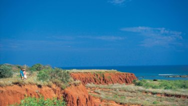 James Price Point north of Broome.