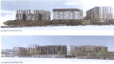 Another view of the proposal.