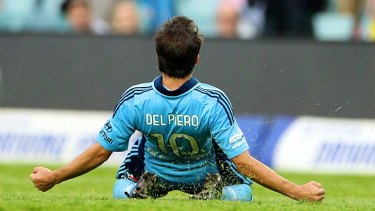 Looking forward to another season in the A-League ... Alessandro Del Piero.