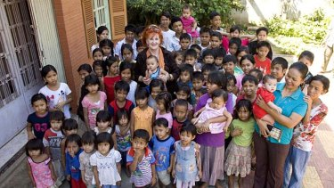 These images off the website of the orphanage raided in Phnom Penh.